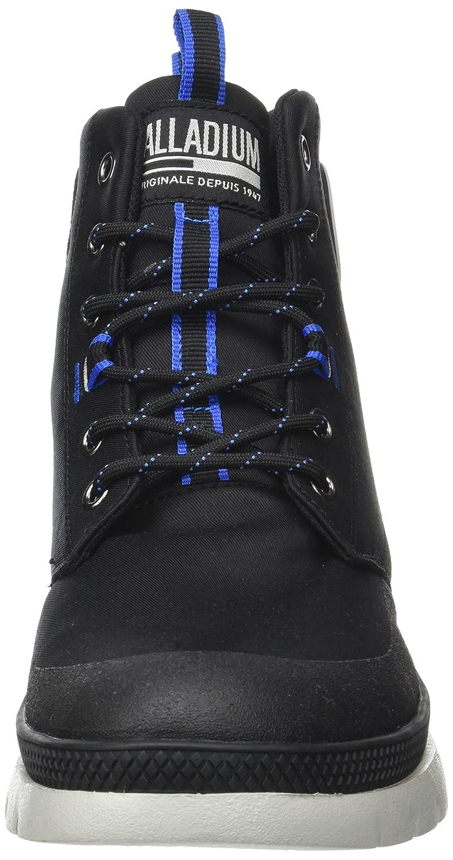 Palladium Plsidr CTD Mi M, Sneaker a Collo Alto Uomo, Nero (Black/Black/Black), 43 EU
