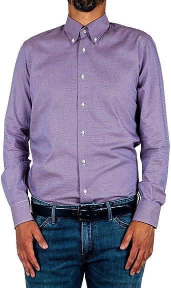 Marcus BY DELSIENA - Camisa para hombre, color burdeos burdeos 40 ES: Amazon.es: Ropa y accesorios