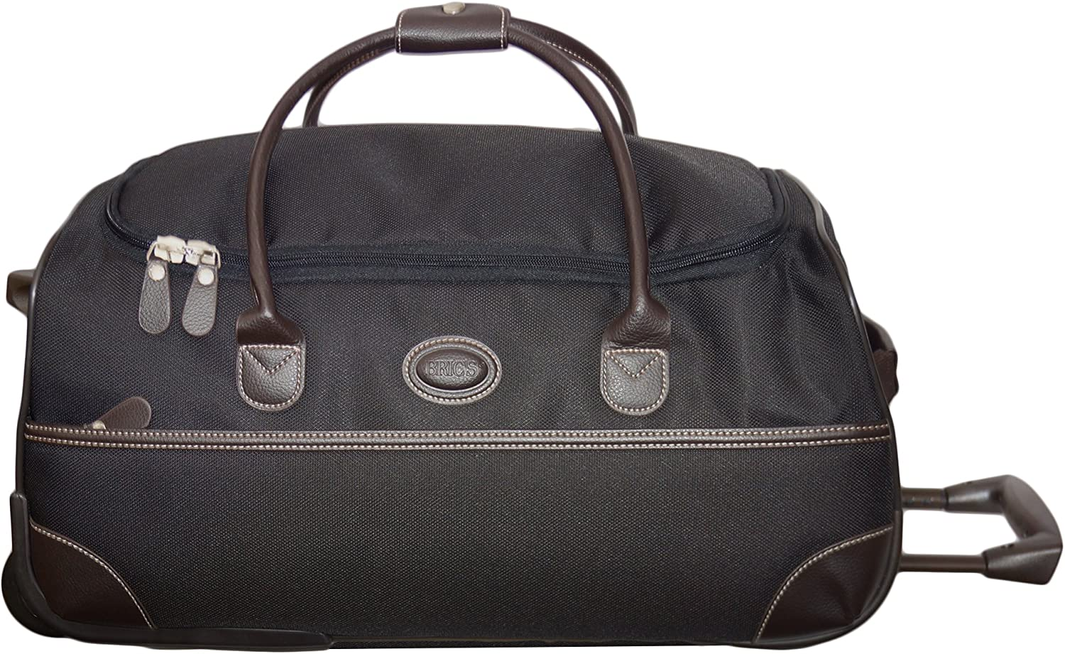 Bric s Luggage Pronto 21 Inch Rolling Duffle, Black, One Size