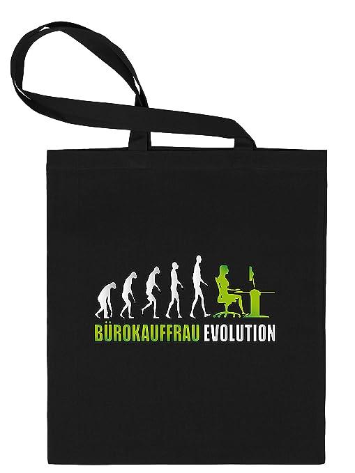 Oficina compra Mujer Evolution - Bolsa de tela estampado por ...