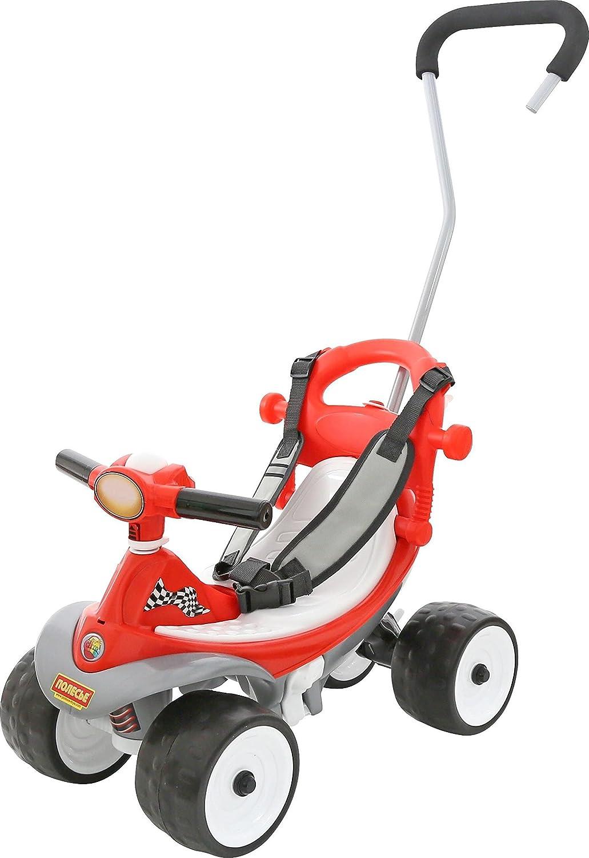 Polesie 46291 Rutscher Quad 2 mit Tragegriff und Schultergurt Spielzeug