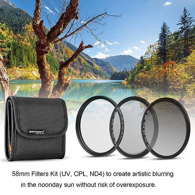 CPL Filtro polarizador circular con recubrimiento m/últiple para lente de c/ámara con rosca de filtro de 67 mm Neewer 67MM