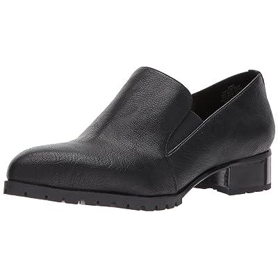 Nine West Women's LIGHTSOUT Synthetic Loafer, Black, 12 Medium US | Loafers & Slip-Ons