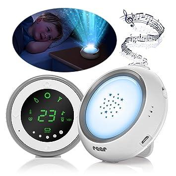Reer 50080 - Proyector para vigilabebés (con luz nocturna y ...