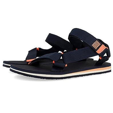 Gioseppo Men's 43539 Open Toe Sandals, Blue Marino, ...