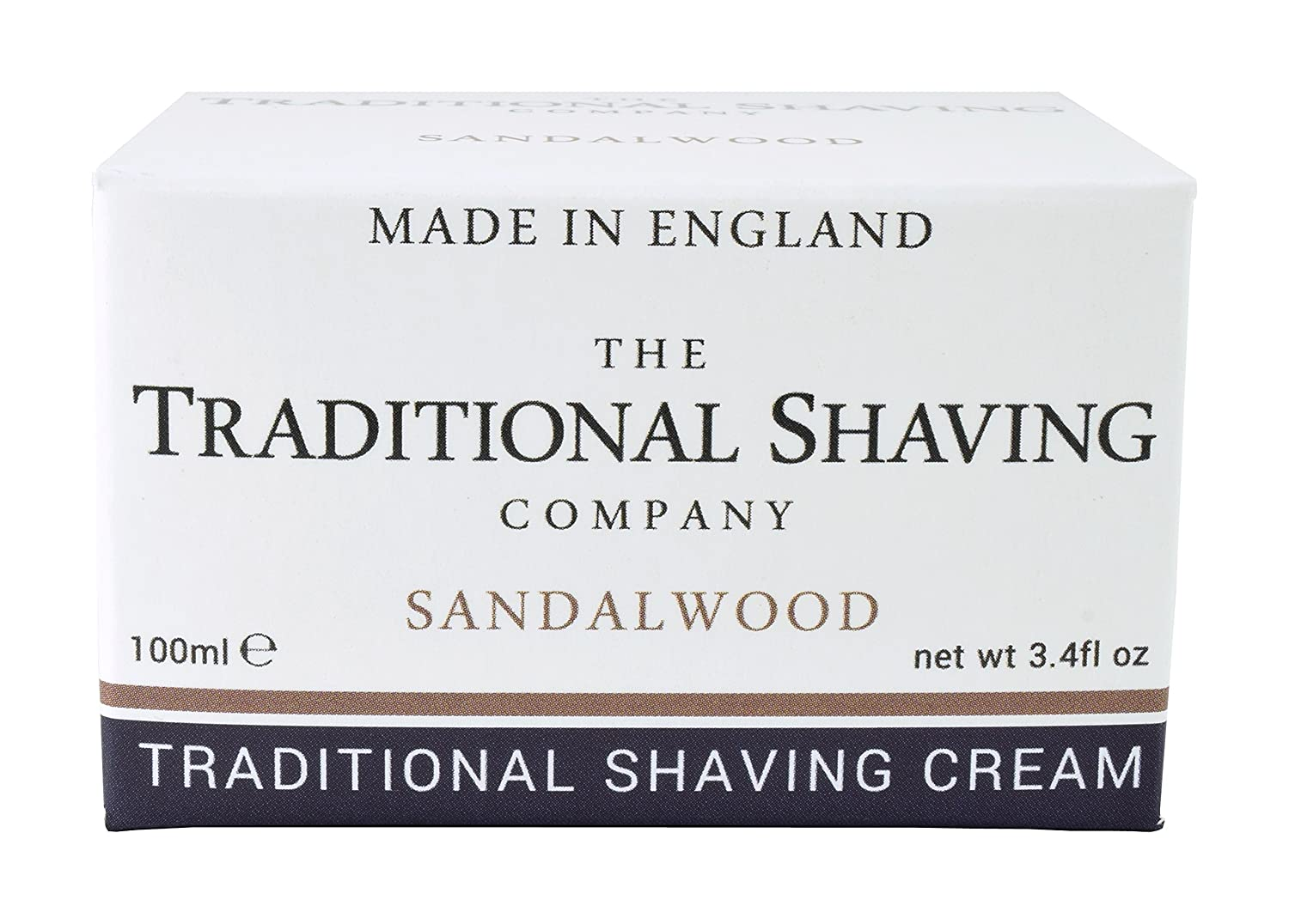 The Traditional Shaving Company Sandalwood Shaving Cream 100ml