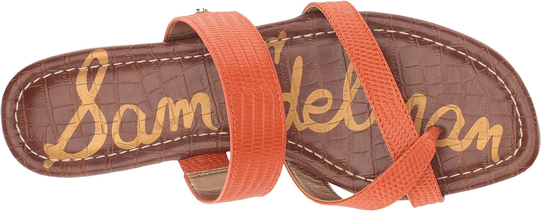 Sam Edelman US|Tangelo Women's Bernice Slide Sandal B078SY3625 6 W US|Tangelo Edelman Vaquero Saddle Leather 8f6ba4