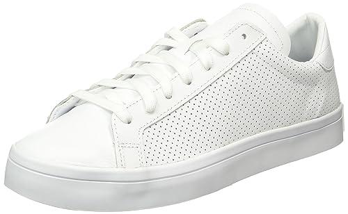 64aee74442d Adidas Courtvantage Mens Trainers White White - 12 UK: Amazon.ca ...