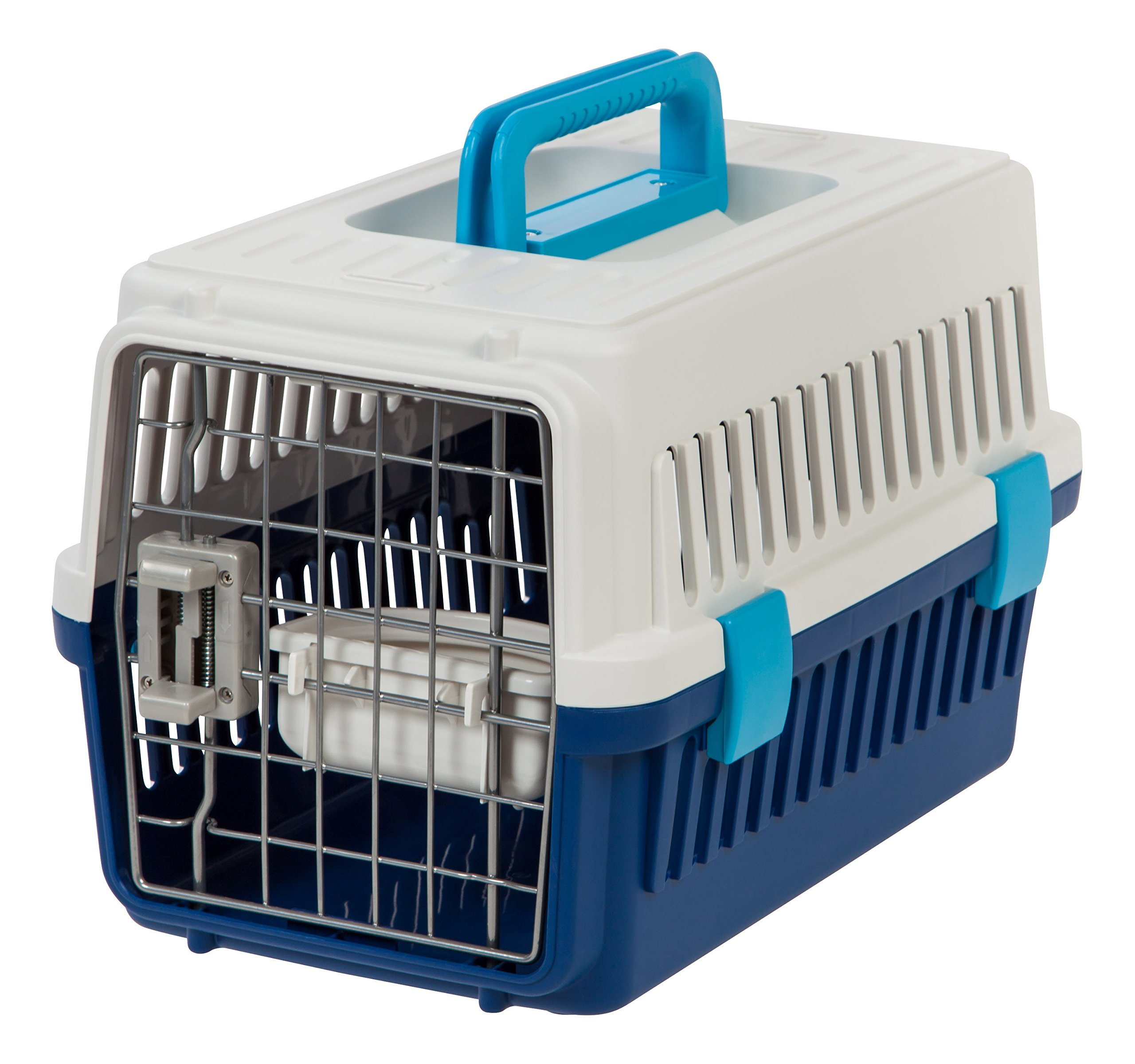 IRIS Extra Small Deluxe Pet Travel Carrier, Navy