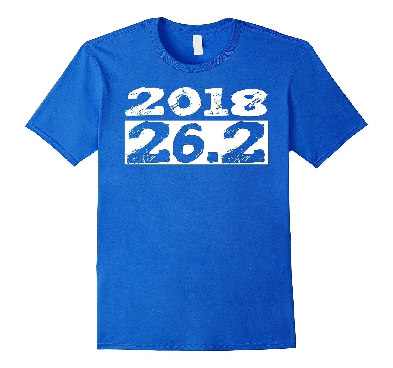 26,2 Marathon 2018 New Year Resolution Novelty Shirt-RT