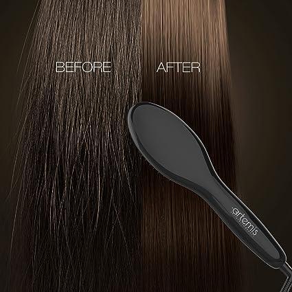 Artemis® - Cepillo alisador de cabello - una nueva generación de peine para desenredar pelo como supongo a tradicional - lograr resultados instantáneos ...