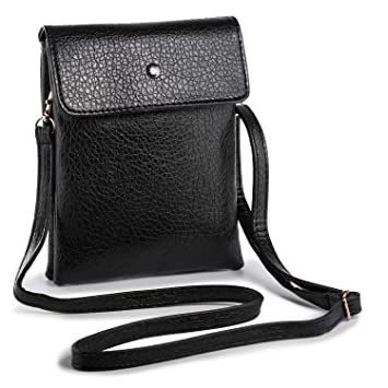 Hengying Mini Cross Body Phone Bag Universal Mobile Phone Bag Wallet Pouch  Purse PU Leather Girls 22e93a883a