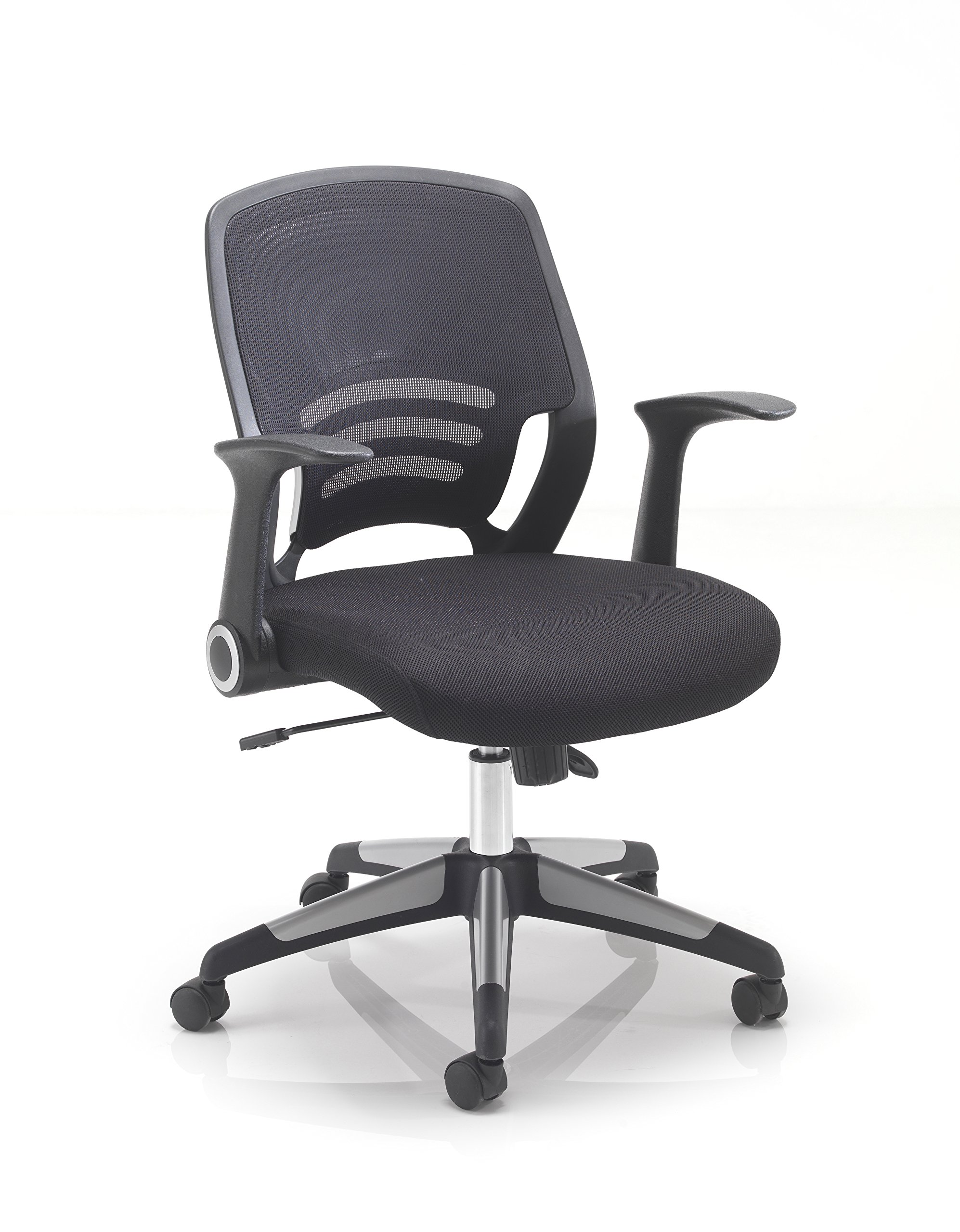 Office Hippo Mesh Back Office Chair With Retractable Arms