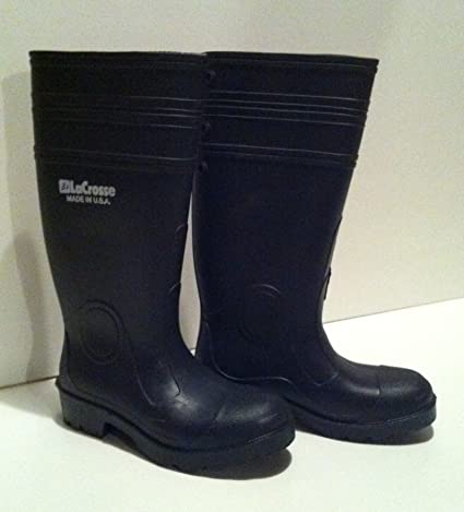 Lacrosse All-Purpose Rubber Boots (Women Size 12 Men Size 10 ... 11998caf4e19