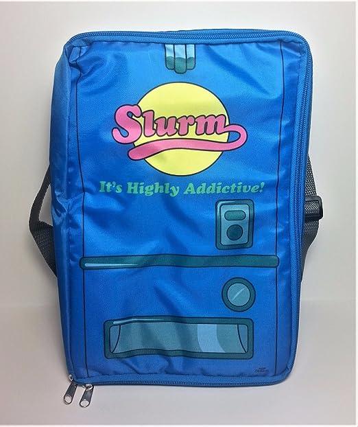 Slurm bolsa térmica aislante (botín (DX) bolsa de bolsa para el almuerzo enfriador Soda - Exclusivo de Futurama -: Amazon.es: Jardín