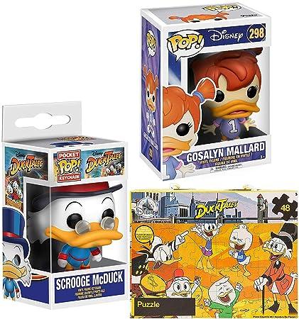 Amazon.com: Duck Duck Ducktales Scrooge McDuck Figure Pocket ...