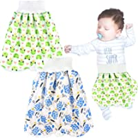 Tomaibaby Baby Training Pants Diaper Skirt Dinosaur Potty Training Clothes Waterproof Cotton Animal Training Pants for Baby Toddler Night Time Sleeping Bed Clothes M