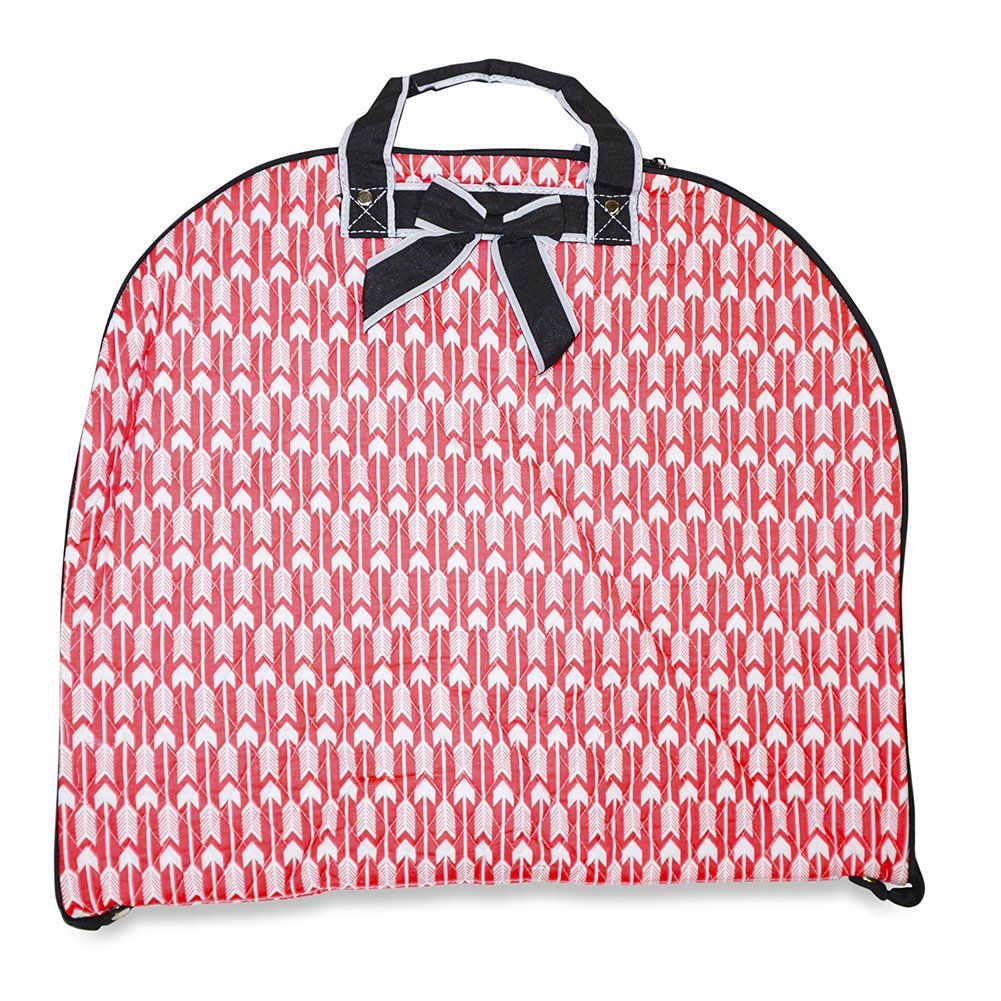 Ever Moda Arrow Quilted Garment Hanging Bag