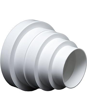 PVC Arco 45//° ventilaci/ón Tubo ABS Tubo Redondo De Di/ámetro 100/Canalizado Awenta para tubo de 100/mm