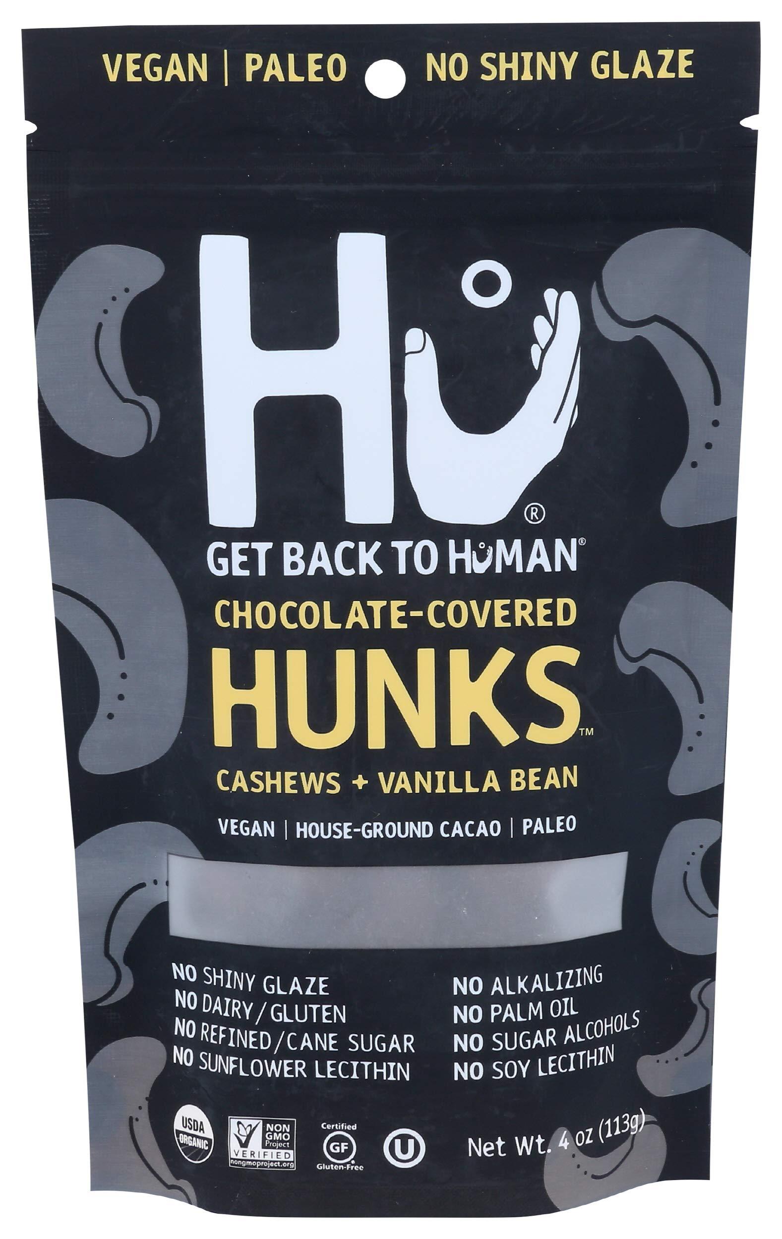 HU KITCHEN Chocolate Covered Cashews, 4 OZ