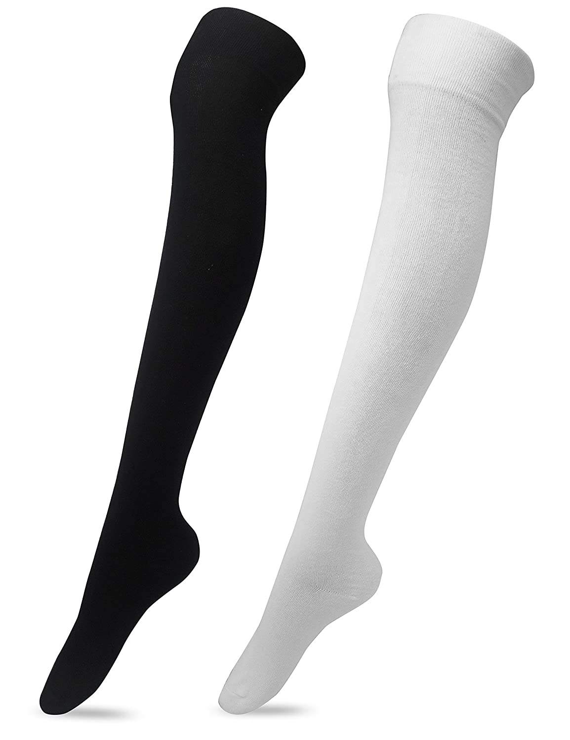 a48a6652b17 Women s Over The Knee High Socks 2 Pairs