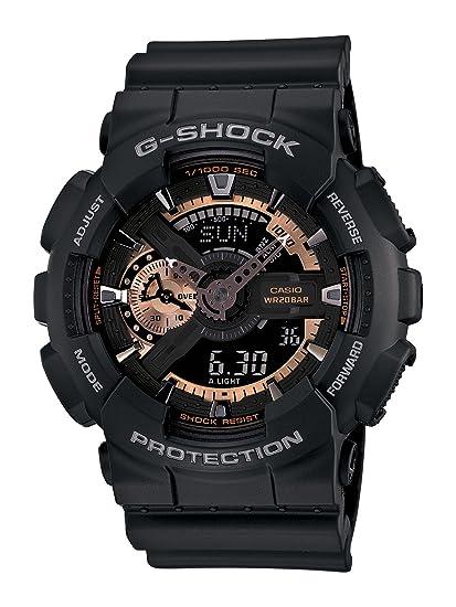 adf1a76e2c0f Casio De los hombres ga110rg-1 a G-Shock Negro Reloj  Casio  Amazon ...