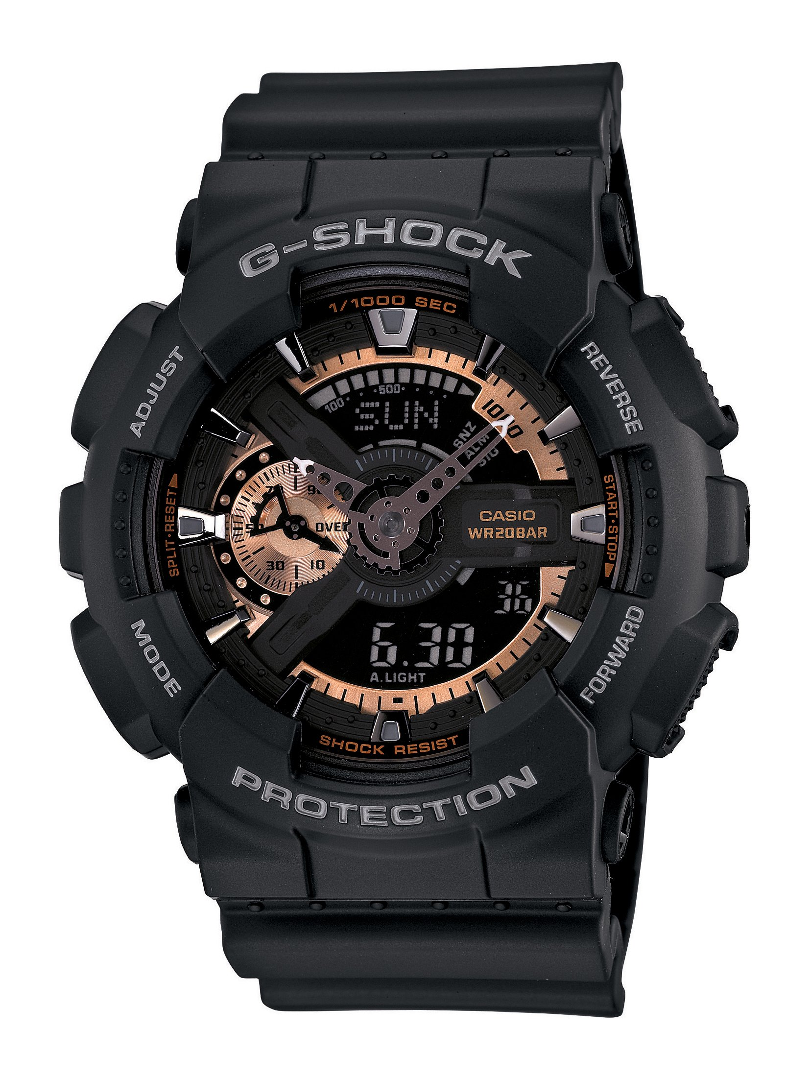 Casio Men's GA110RG-1A G-Shock Black Watch by Casio (Image #1)