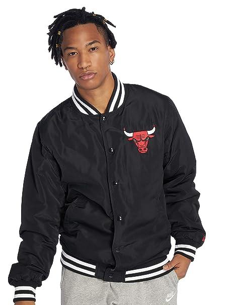 bc8d70b818d New Era Men Bomber Jackets NBA Team Chicago Bulls: Amazon.co.uk: Clothing
