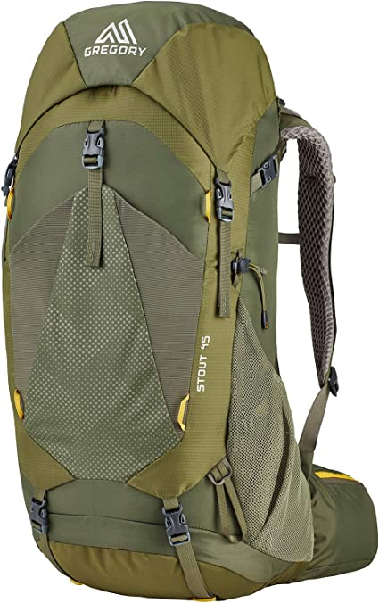 Coal Grey Gregory Mountain Products Stout 75 Liter Mens Backpack One Size