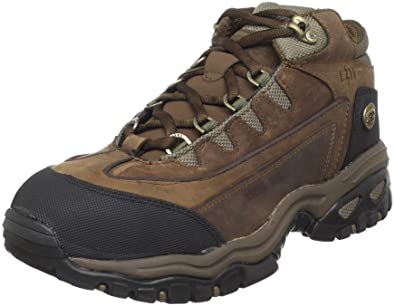 Skechers for Work Men's Blueridge Hiker,Brown,7.5 EW