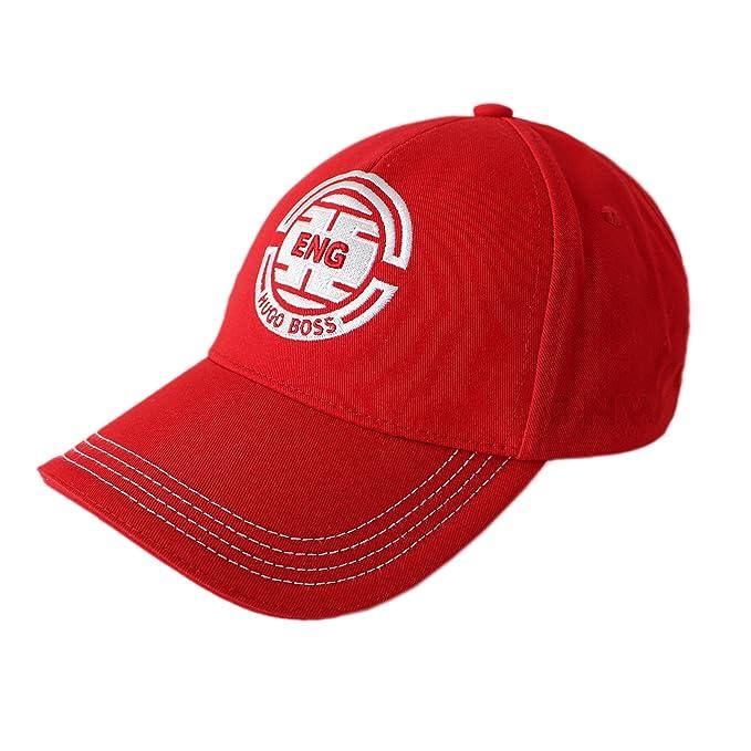 BOSS Hugo Gorra de béisbol - para Hombre Rojo England - Red Talla única: Amazon.es: Ropa y accesorios