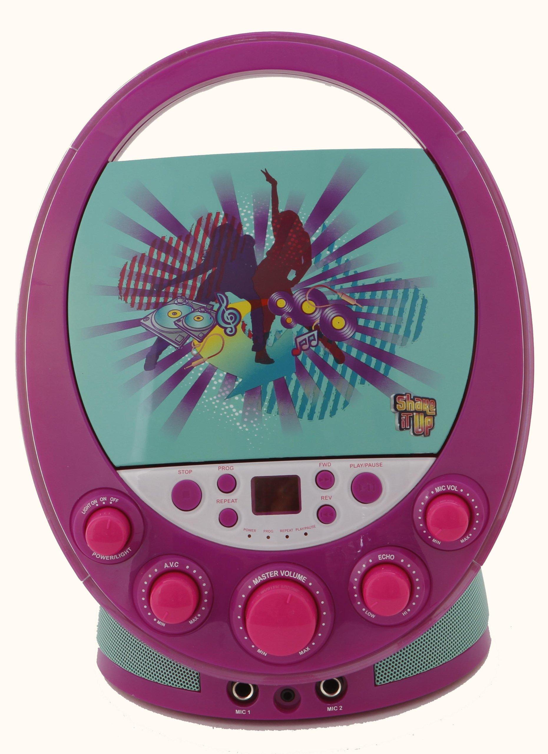 Karaoke System 66014 Shake it Up Karaoke Machine, Purple by Karaoke System (Image #4)
