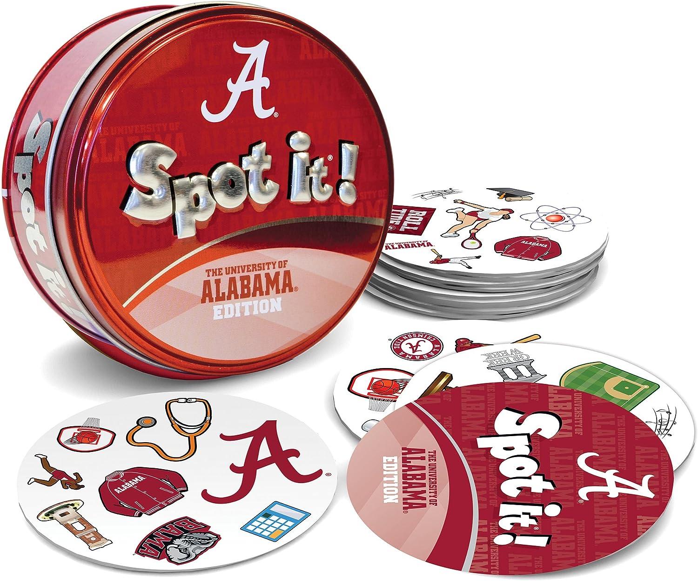 MasterPieces NCAA Alabama Crimson Tide Shake N Score Dice Game