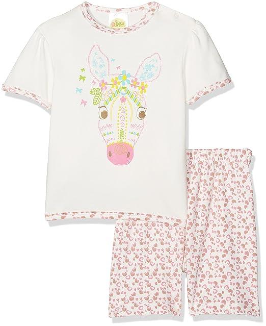 DIMO-TEX Pyjama Sweet Safari 2 Teilig, Conjuntos de Pijama para Bebés, (