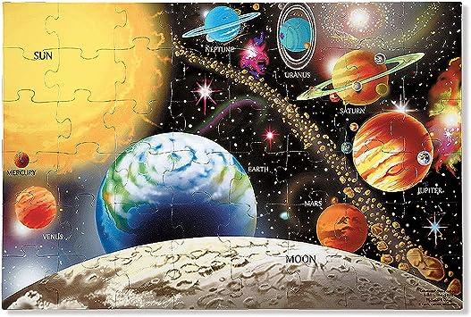 Melissa & Doug 10413 - Rompecabezas de Sistema Solar para el Piso ...