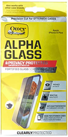 OtterBox ALPHA GLASS SERIES Screen Protector for iPhone 6 Plus/6s Plus - Retail Packaging
