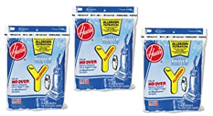 Hoover Type Y Allergen Bag (9-Pack), 4010100Y