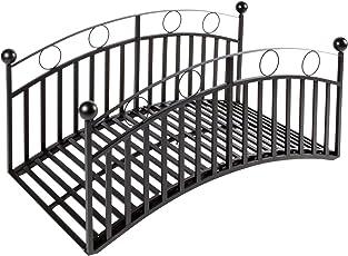 Wrought Iron Steel Garden Bridge