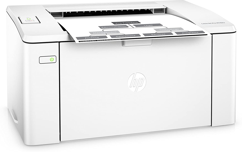 HP Laserjet Pro M 102 A - Impresora Láser Blanco y Negro: Amazon ...