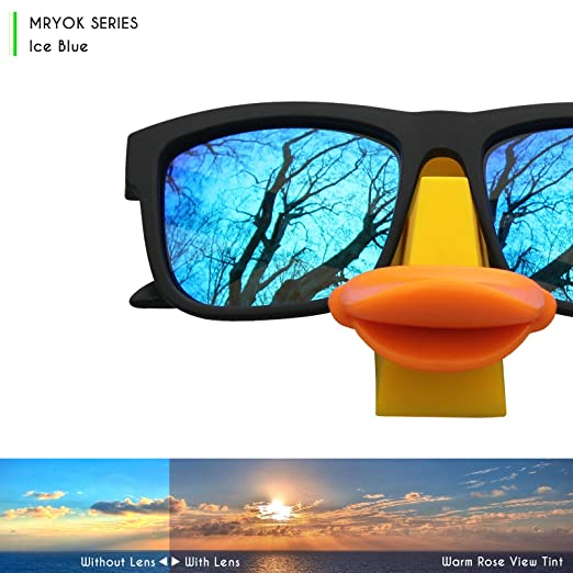 a48978ce23 Mryok Replacement Lenses for Oakley M Frame Heater Sunglasses - Rich  Options  Amazon.in  Clothing   Accessories