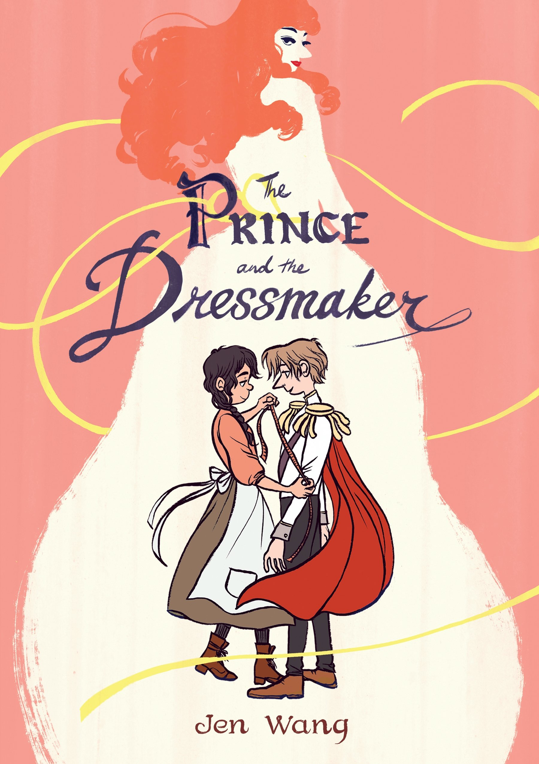 Image result for the prince and the dressmaker jen wang""