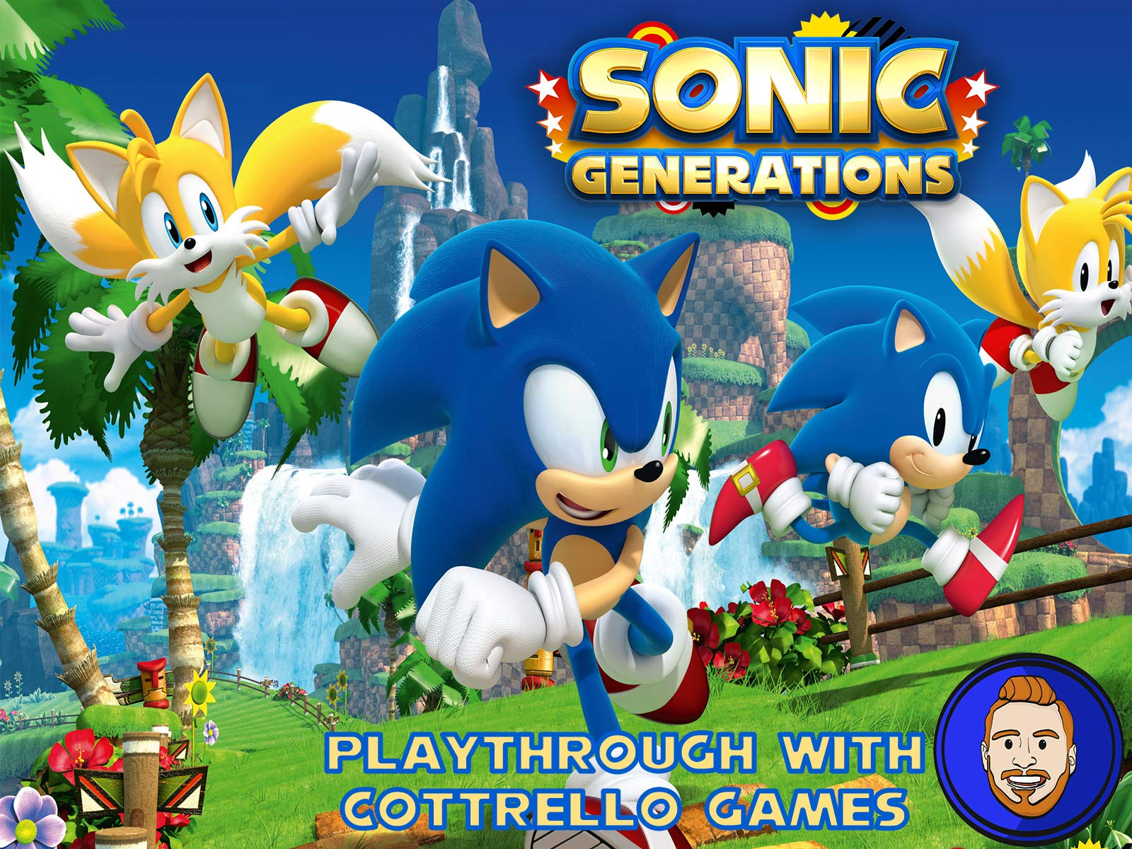 Sonic Generations Playthrough with Cottrello Games