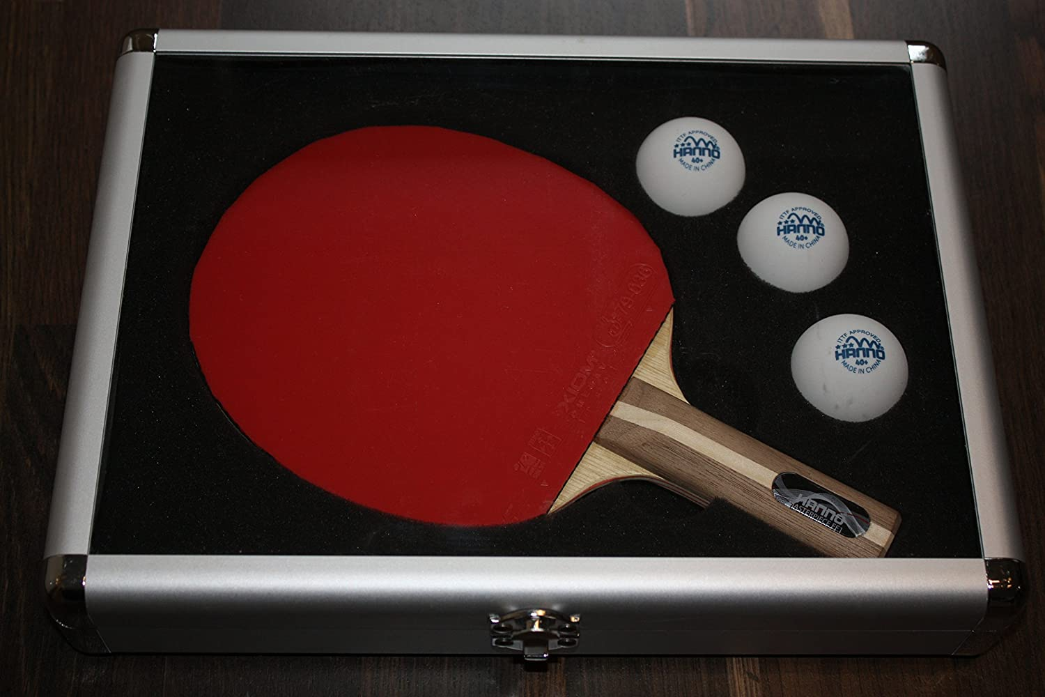 Aluminium Case, Table Tennis Bat Case HANNO HANNO Alu Koffer