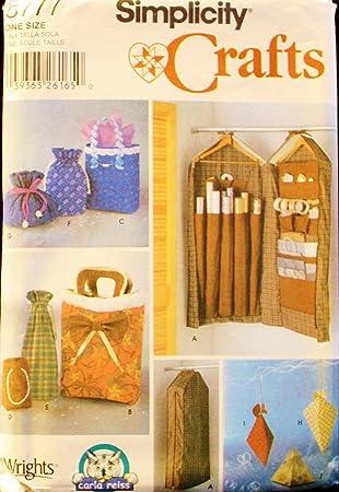 Simplicity Crafts 5777 Schnittmuster, Geschenkpapier-Organizer ...