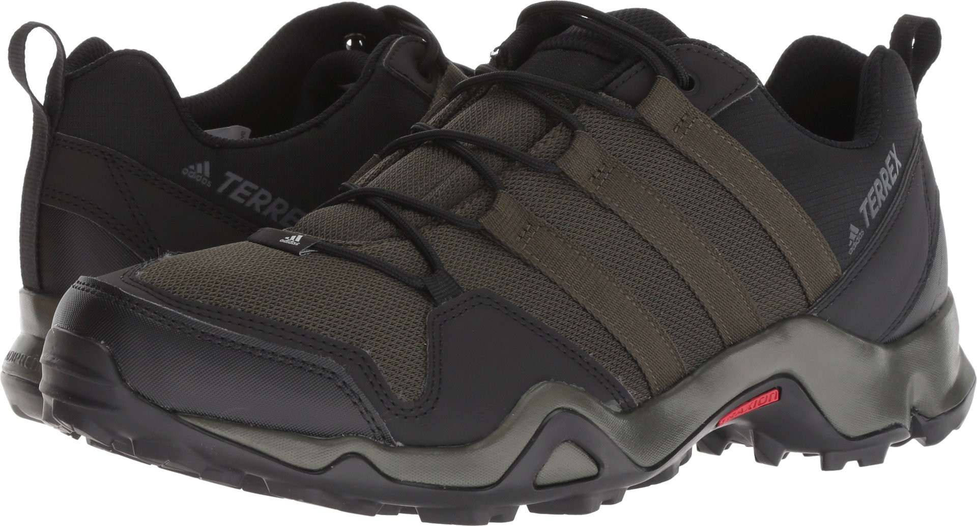adidas outdoor  Men's Terrex AX2R Night Cargo/Night Cargo/Base Green 10 D US by adidas outdoor