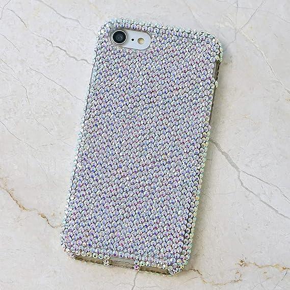 68403710c iPhone 6S Bling Case, iPhone 6 Case - LUXADDICTION [Premium Quality]  Handmade Crystallized