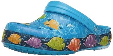 5c5da5a15d2f crocs Unisex Crocband Lights Fish Clog Mule