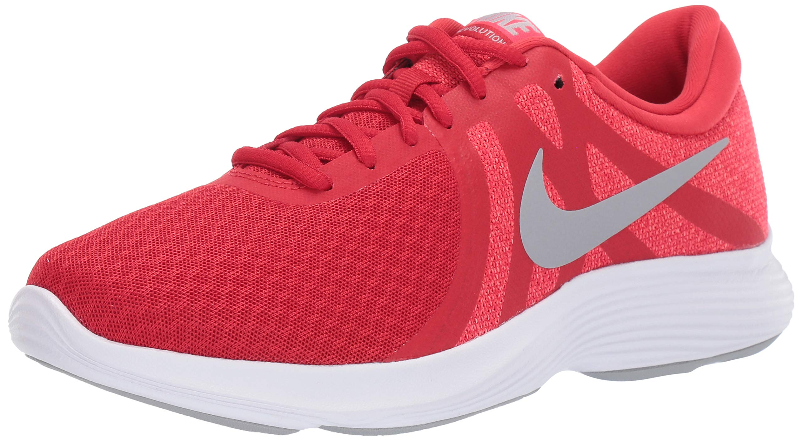 Nike Men's Revolution 4 Running Shoe, University Wolf Grey-red, 6 Regular US