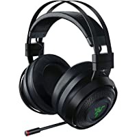 Razer Nari Ultimate Wireless 7.1 Surround Sound Gaming Headset: THX Audio & Haptic Feedback - Auto-Adjust Headband…