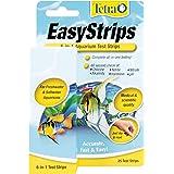 Tetra EasyStrips 6-in-1 Aquarium Test Strips 25-Pieces